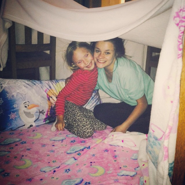 Cousins build the best forts cousins