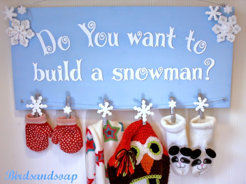 frozen u201d inspired snowman sign tutorial and printable template